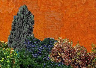 Terra cotta wall