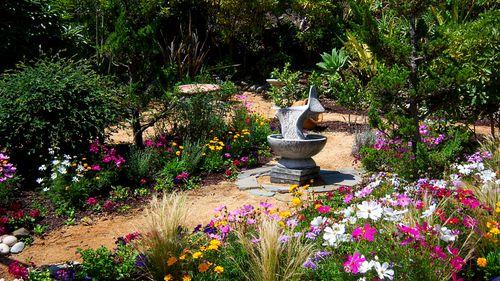 Fountain area august 2